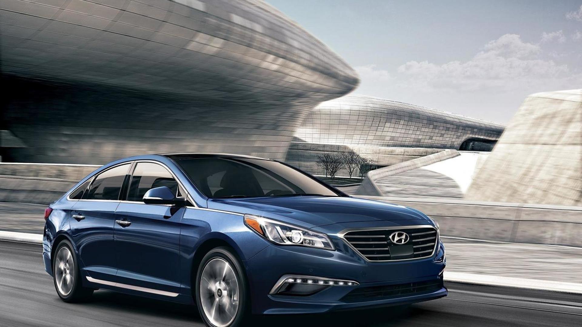 2016 Hyundai Sonata unveiled, gains new equipment & aluminum suspension components