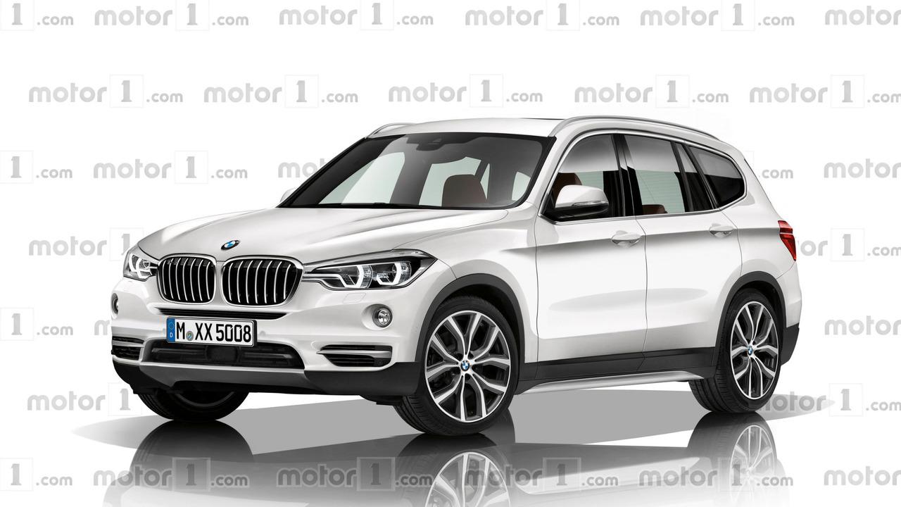 2018 BMW X3 rendering