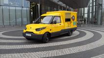 German postal service debuts new electric delivery van
