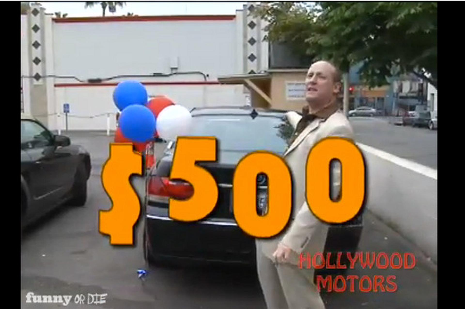 Video: Parody Dealership Hawks Celebrity Cars