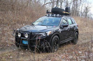 CJ Wilson's Zombie-Proof Mazda CX-5