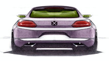 Volkswagen Scirocco design sketches