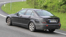 2011 Mercedes C-Class facelift - latest spy photos