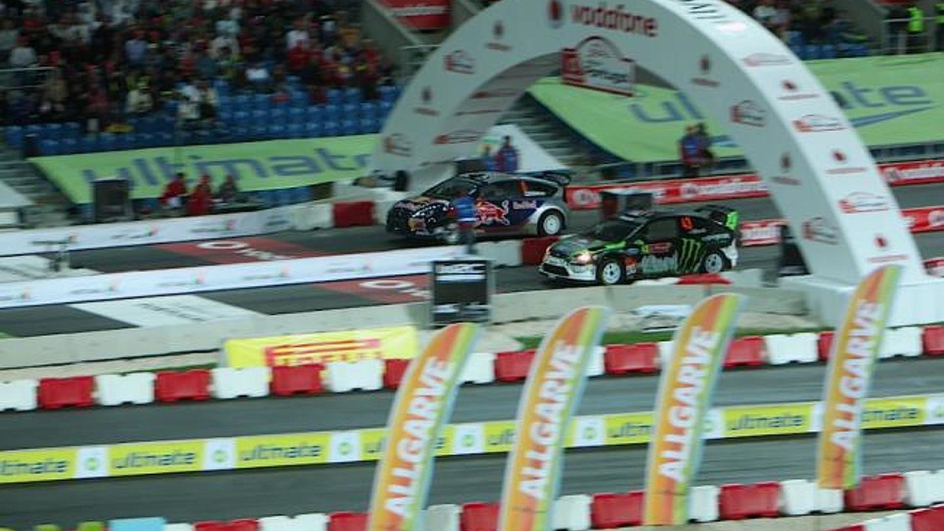 Ken Block vs. Kimi Raikkonen showdown ends with photo finish [Video]