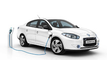 Renault Fluence Z.E. and Kangoo Van Z.E. Production Versions Revealed