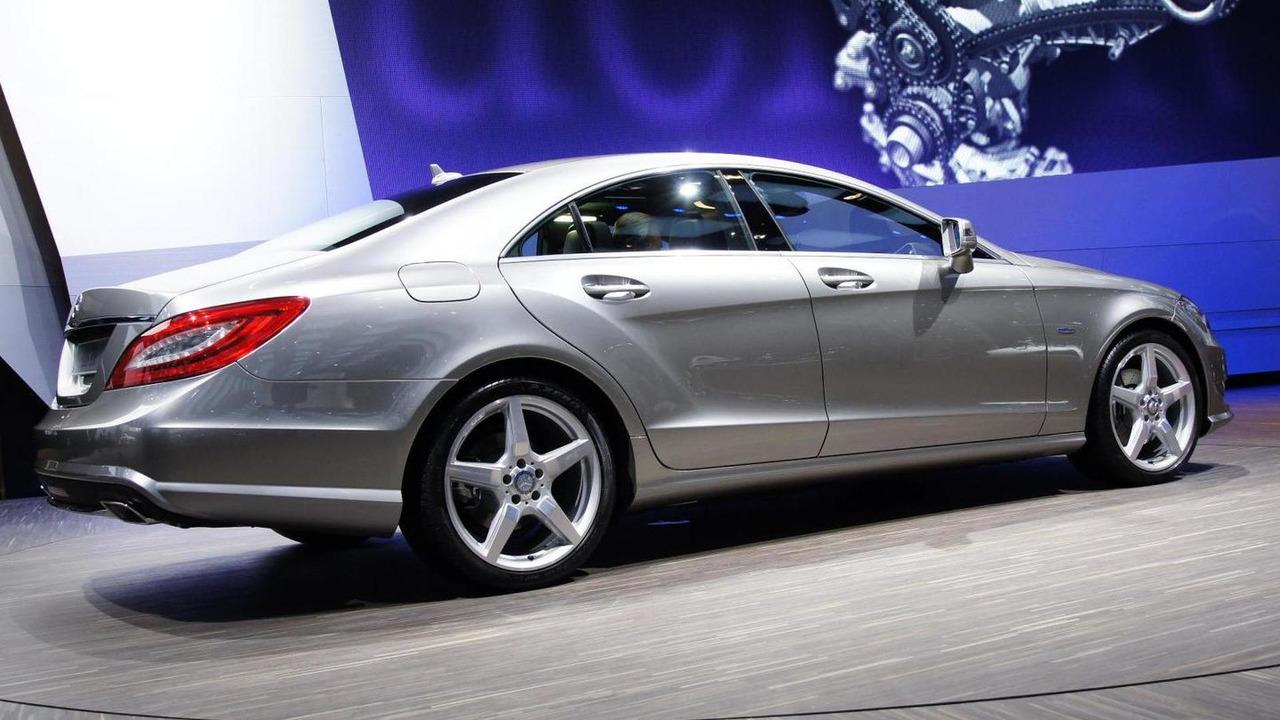 2012 Mercedes CLS-Class live in Paris 30.09.2010