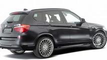 Hamann works on the BMW X3