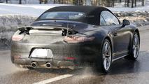 Porsche 911 prototype (possible GTS) spy photo