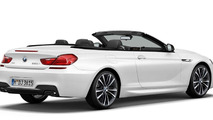 2014 BMW 6-Series Convertible Frozen Brilliant White Edition announced (US)