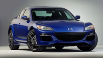 2009 Mazda RX-8 Facelift Makes World Debut at Detroit