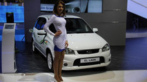 AvtoVAZ El Lada electric vehicle introduced in Moscow