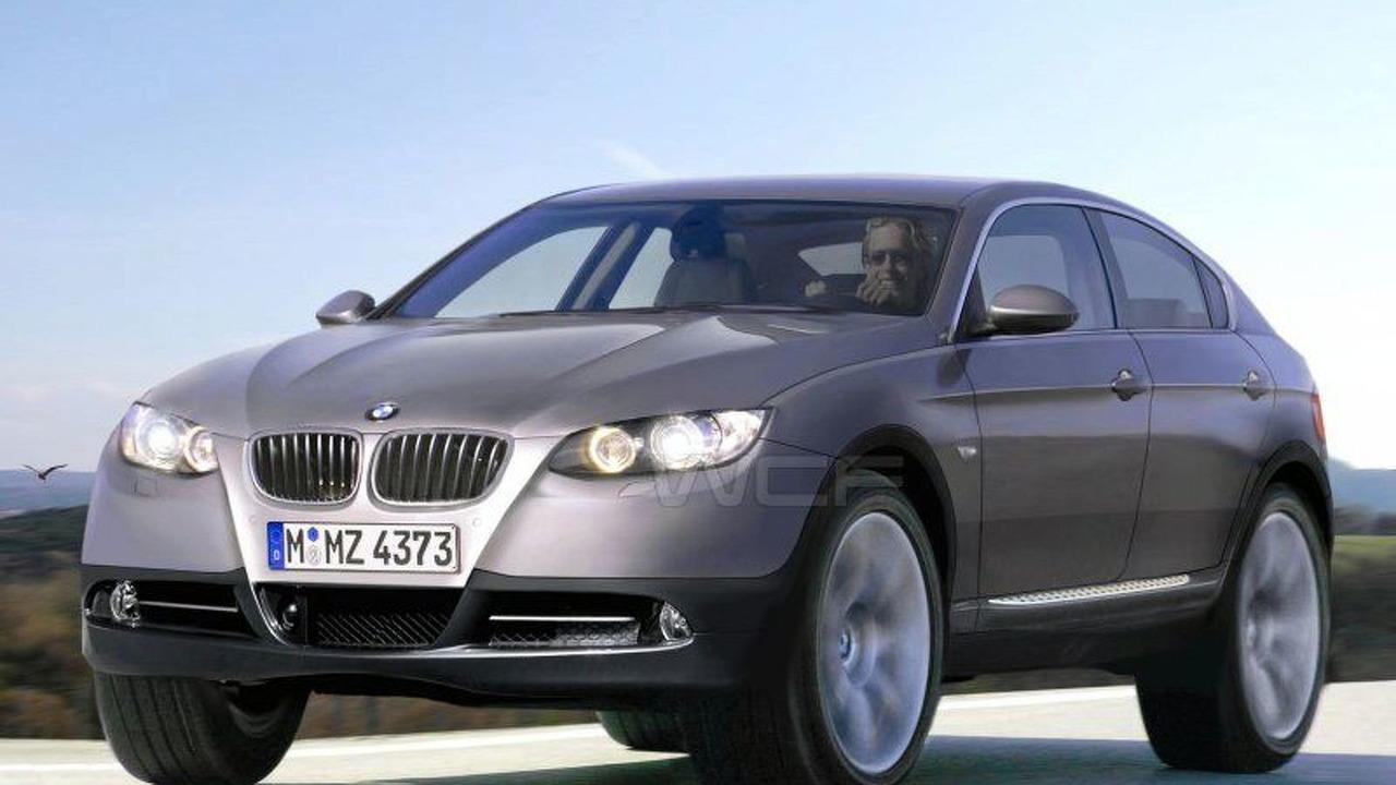 BMW X6 artists interpretation