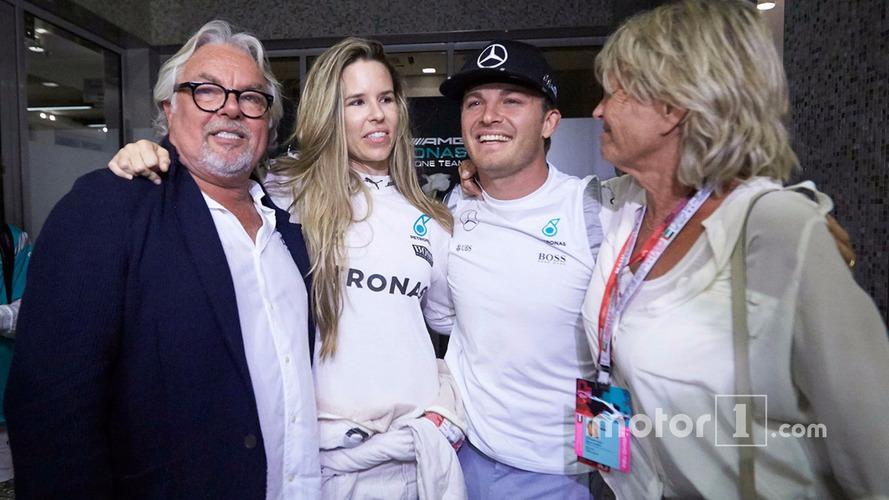Keke Rosberg watched his son Nico win the F1 World Championship on TV