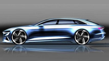 Audi drops two additional renders of the Prologue Avant concept