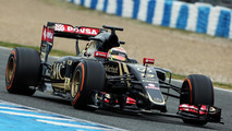 Pastor Maldonado (VEN) Lotus F1 E23. 02.02.2015, Formula One Testing, Day Two, Jerez, Spain / XPB