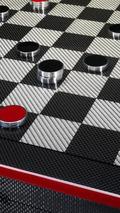 Ferrari carbon fiber chess set