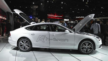 Audi A7 Sportback h-tron quattro concept at 2014 Los Angeles Auto Show