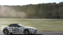Jaguar F-Type sports car prototype 04.04.2012