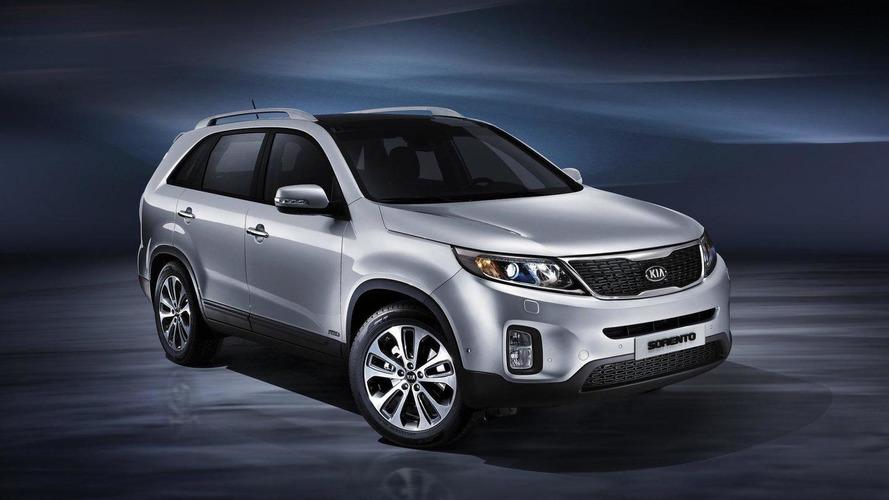 Range-topping 40,000 GBP Kia Sorento KX-4 considered