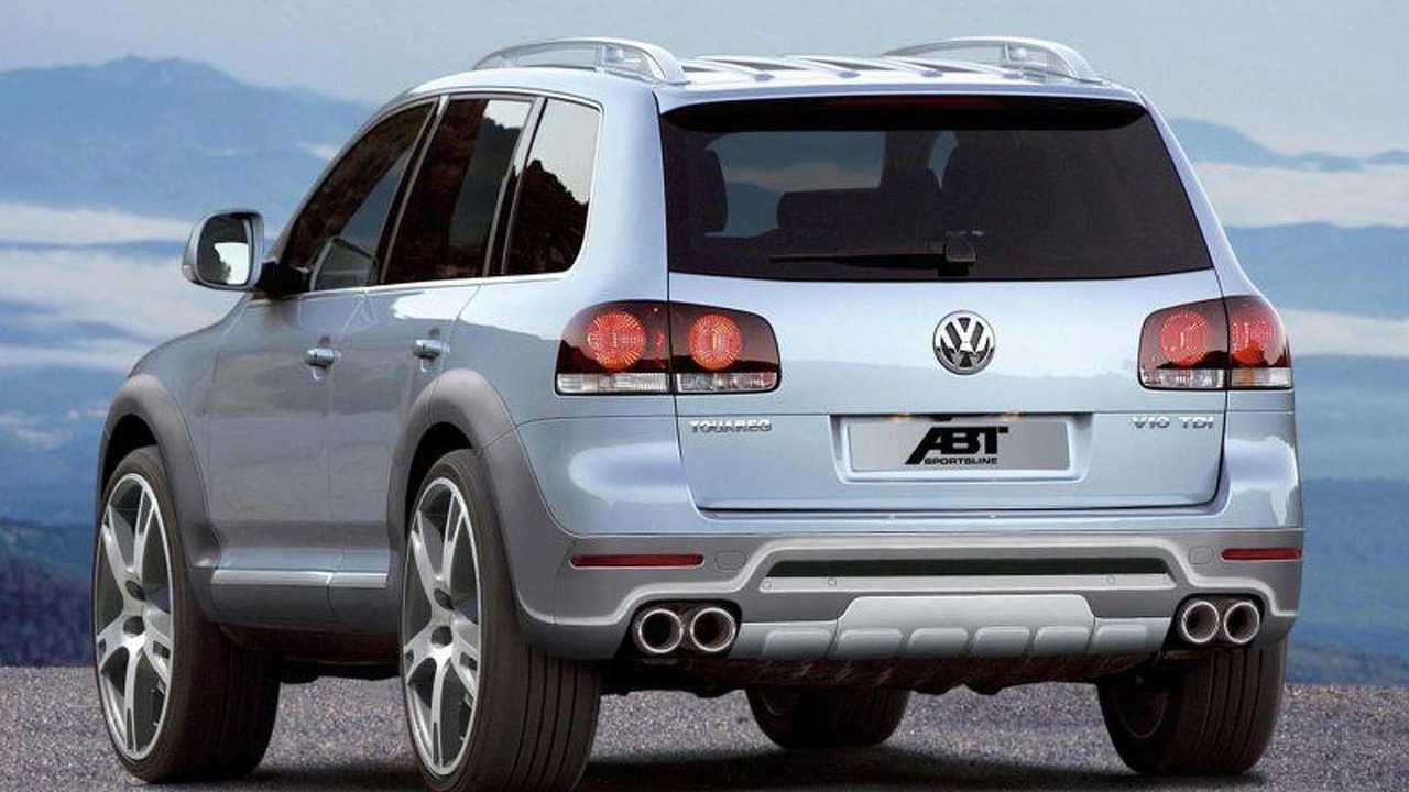 Volkswagen Touareg Facelift by Abt
