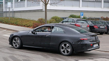 2018 Mercedes E-Class Coupe spy photo