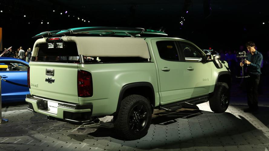 Chevrolet Colorado Z71 Hurley concept au SEMA Show