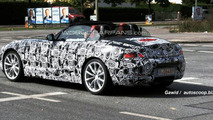 BMW Z4 with top down