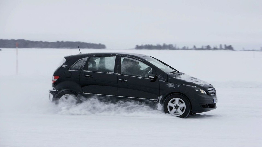 Mercedes B-Class Fuel Cell Withstands Cold-Weather