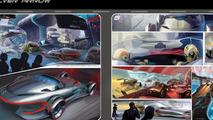 Mercedes Silver Arrow concept for LA Design Challenge - 1.11.2011