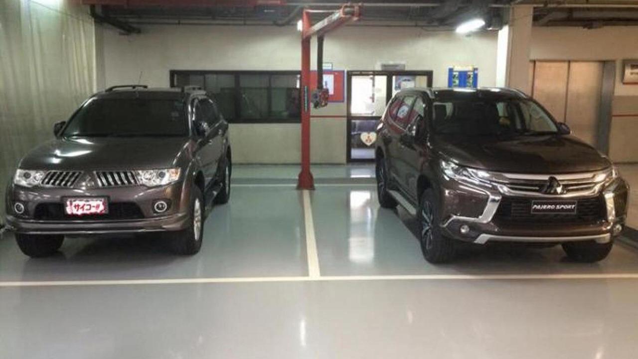 2014 Mitsubishi Pajero Sport and 2016 Mitsubishi Pajero Sport