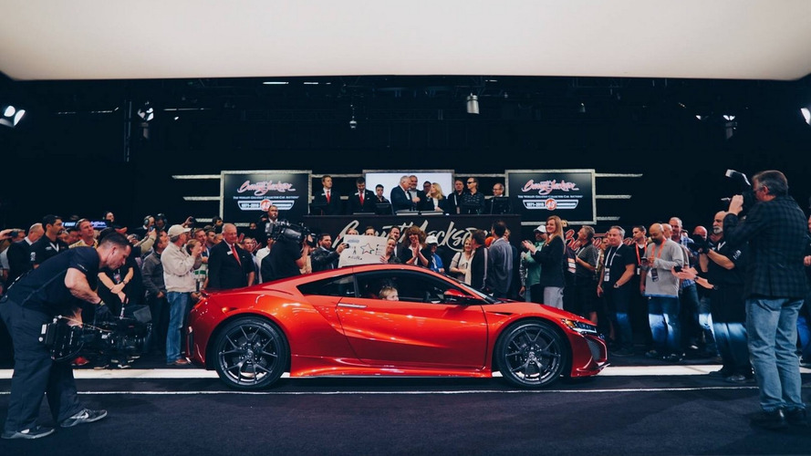 2017 Acura NSX #001 sells for $1.2 million