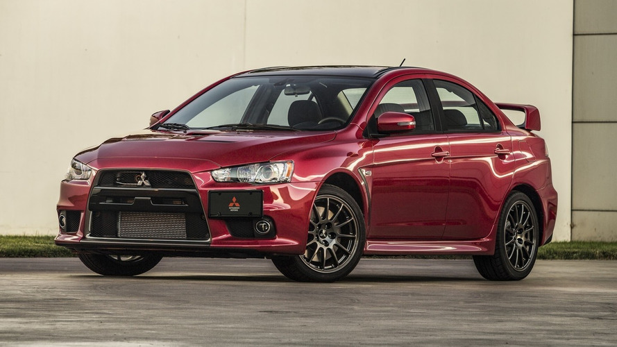 Mitsubishi Lancer Evolution Final Edition #0001 going for $88,888