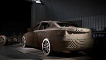 Lexus IS full-size origami replica