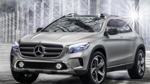 Mercedes-Benz GLA Concept revealed ahead of Auto Shanghai debut [UPDATED]