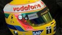 Bespoke Steinmetz Diamond McLaren F1 helmet