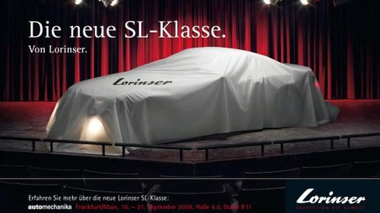 Lorinser SL Facelift teaser