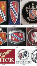 Evolution of the buick badge