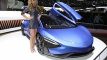 Techrules GT96 TREV supercar concept debut in Geneva
