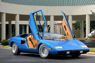 Lamborghini Countach Sells for Record $1.21 Million in Greenwich