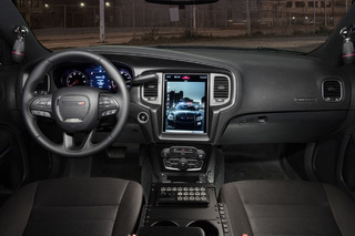 Dodge Gives Cop Car Dashboards a Touch of Tesla