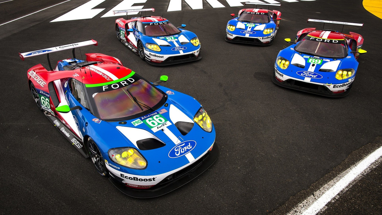 Le Mans-winning Ford GT race car to tackle Goodwood hill