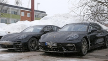 2017 Porsche Panamera loses almost all camo