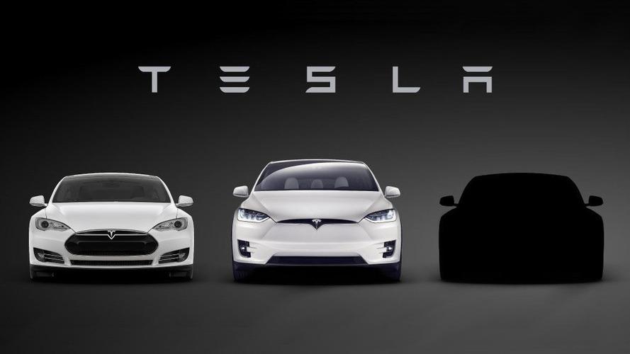 Tesla Model 3 teased, debuts on March 31st