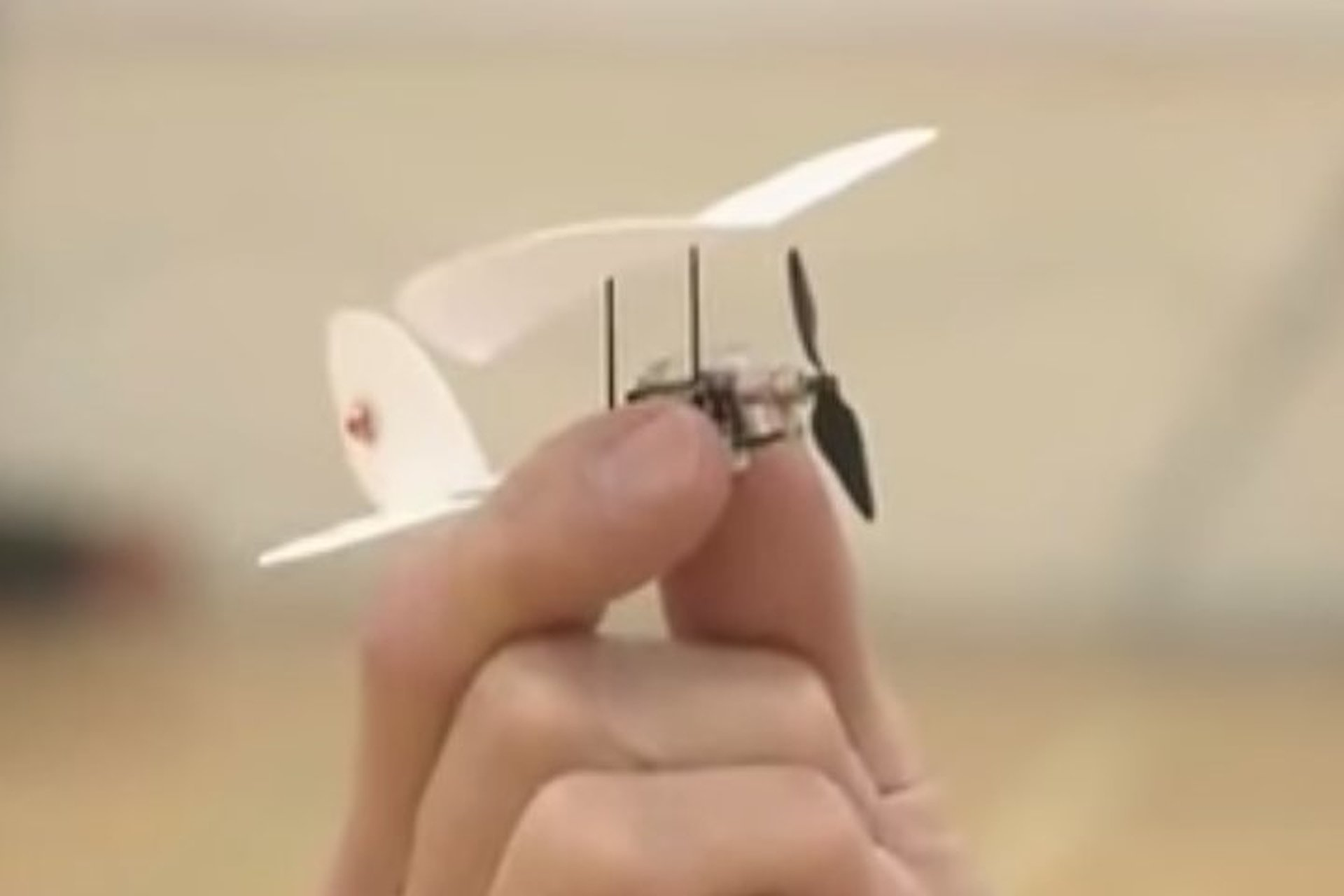 This is the World's Smallest Remote Control Aircraft [Video]