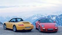 Porsche 911 Carrera 4 Cabriolet & Carrera 4S Cabriolet