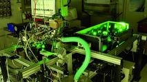 H2BVplus Hydrogen Combustion Engine with Laser Measurement Equipment