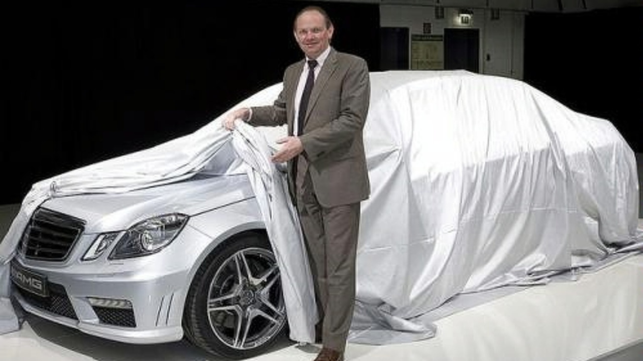 2010 Mercedes E63 AMG Sedan Teased