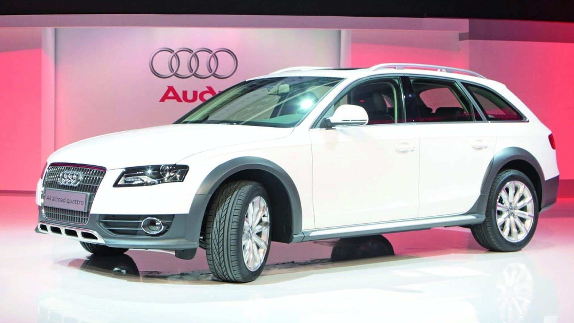 Geneva 2009: Audi A4 AllRoad Quattro