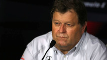 Norbert Haug (GER), Mercedes, Motorsport chief, Singapore Grand Prix, Friday Press Conference, 25.09.2009