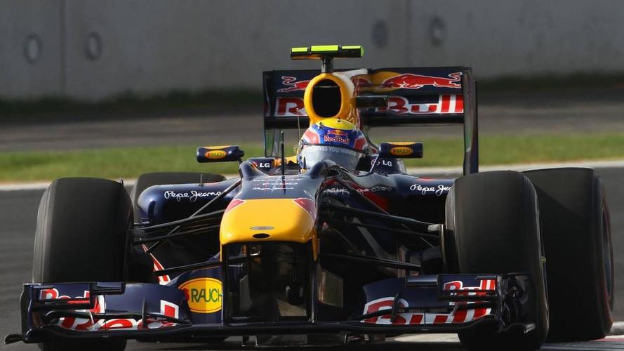 Webber has fresh engine for Korea